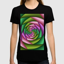 Fractal Colorful Tunnel T-shirt