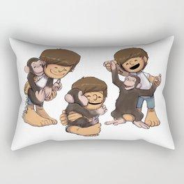 Louis and Eli Rectangular Pillow