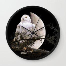 Snowy Owl A144 Wall Clock