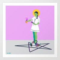 Crystal Intentions Art Print