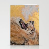 fierce Stationery Cards featuring Fierce by NicoleFaye