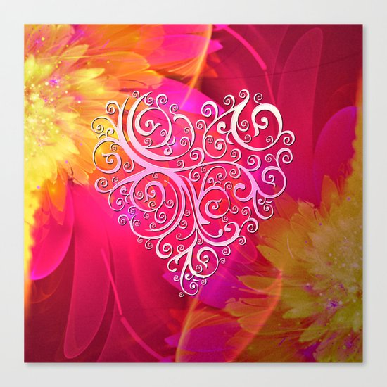 Ever More Heart Canvas Print