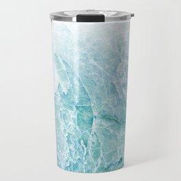 Sea Dream Marble - Aqua and blues Travel Mug