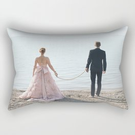 Take me with you Rectangular Pillow