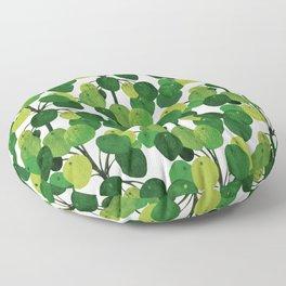 Pilea Peperomioides interior plant Floor Pillow