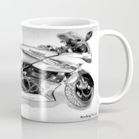 ninja Mugs featuring Ninja by Kr_design