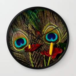 Birds Of A Feather 1 Wall Clock