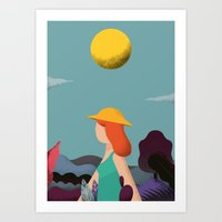 into the wild Art Prints featuring Wild by Riccardo Fred Cusimano