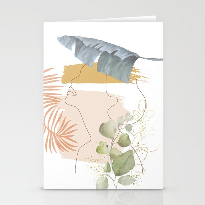 Line in Nature I Stationery Cards