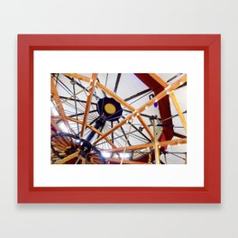 The Carousel of Happiness  Framed Art Print