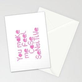 Case Sensitive Stationery Cards