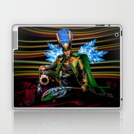 I Come With Glad Tidings, of A World Made Free Laptop & iPad Skin