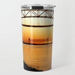 Cape Cod Bourne Bridge Travel Mug
