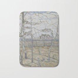 Abraham Manievich - Birch Trees (1911) Bath Mat