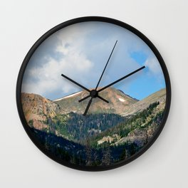 Bowen Mountain 2018 Study 4 Wall Clock