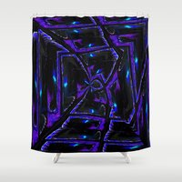 gothic Shower Curtains featuring Gothic by David  Gough