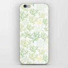 Green Corals iPhone & iPod Skin