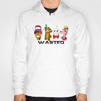 wasted rita Hoodies featuring WASTED by Indigo Blak