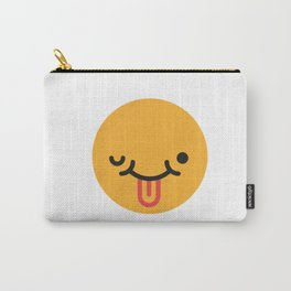 Emojis: Crazy face Carry-All Pouch
