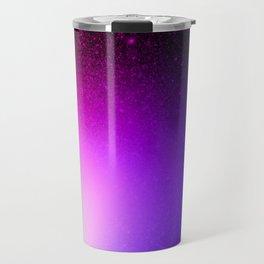 Fuchsia Purple Blue Ombre Travel Mug