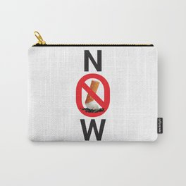 Stop smoking now - Great American Smokeout Carry-All Pouch