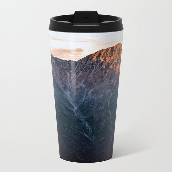 Southern Alps II Metal Travel Mug