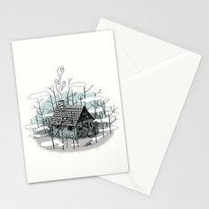 DEEP IN THE HEART OF THE FOREST Stationery Cards