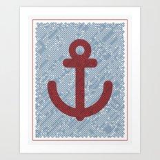 Knot & Anchor Art Print