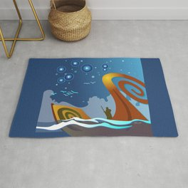 Night Voyage Rug