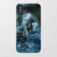 predator iPhone & iPod Cases featuring Predator by va-sily