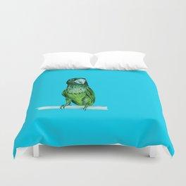 Neon Bird Duvet Cover