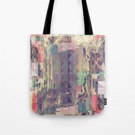 Mountain//Glitch Tote Bag