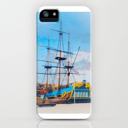 HMS Endeavour  iPhone Case