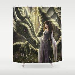 To Meet a Dragon Shower Curtain