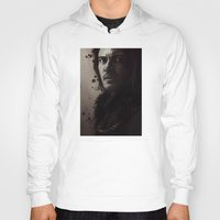 dracula Hoodies featuring Dracula by LindaMarieAnson