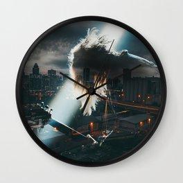 Guitar Hero city Wall Clock