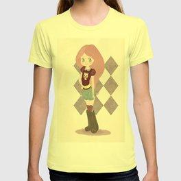 Pink hair girl T-shirt