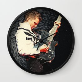 Matthew Bellamy Wall Clock