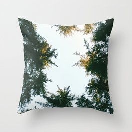 Trees Throw Pillow