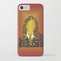 hermione iPhone & iPod Cases featuring Hermione by Rebecca McGoran