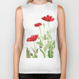 Blooms and Buds Biker Tank