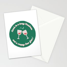 Here's to a Lousy Christmas Stationery Cards