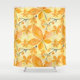 Autumn leaves #11 Shower Curtain
