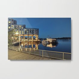 Nice place for romantic meeting Metal Print