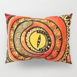 Reptilian Fire Pillow Sham