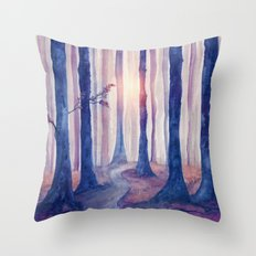 Track 18: Spirit of the Forest c.o. Throw Pillow