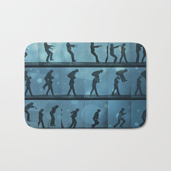 movement jump Bath Mat