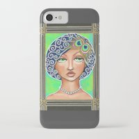 gatsby iPhone & iPod Cases featuring Great Gatsby by Jaymee Laws