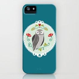 Piccola Damigella Gufo iPhone Case