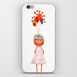 my dreams exploded iPhone Skin
